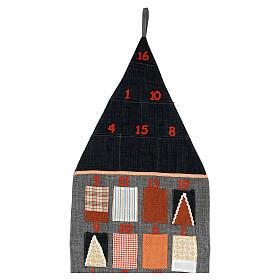 Calendario Avvento Casetta in stoffa s3