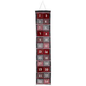 Calendario Avvento feltro 170 cm s1