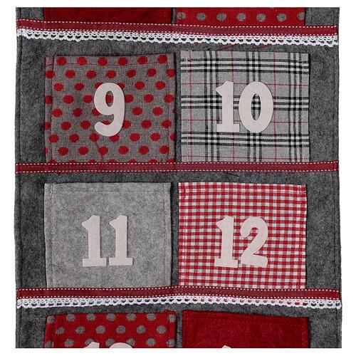 Fabric Advent Calendar 170 cm 2