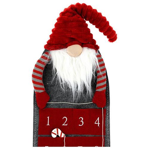 Calendar Advent gnome felt 125 cm 2
