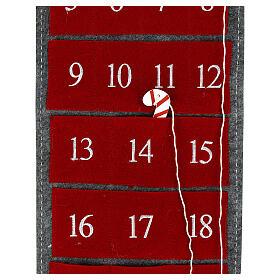 Calendario Avvento gnomo feltro 125 cm s3