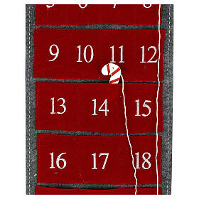 Advent calendar gnome felt 125 cm s3