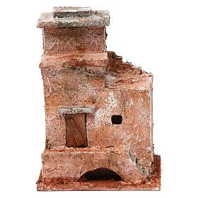 Casa piccola porta legno ponte 15X10X10 stile palestinese cm s1