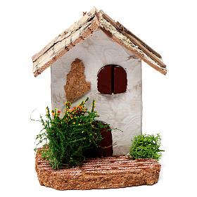 Ambientações para Presépio: lojas, casas, poços: Casinha rústica 10x7x7 cm para presépio