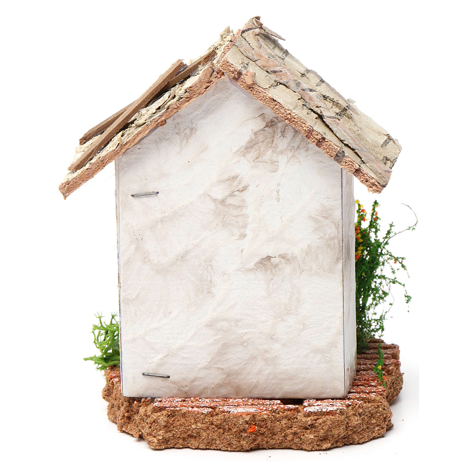 Rustic house 10X7X7 cm for Nativity 4