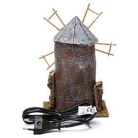 Electric windmill for Nativity Scene 20x10x10 cm s4