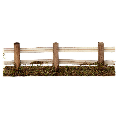Wooden fence 5x20x5 cm for Nativity Scene 7-8 cm 4