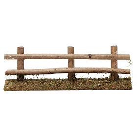 Puentes, Ríos y Empalizadas: Cerca de madera 5x20x5 cm para belenes 7-8 cm de altura media
