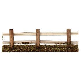 Ogrodzenie z drewna 5x20x5 cm do szopek 7-8 cm s4