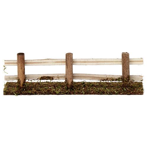 Ogrodzenie z drewna 5x20x5 cm do szopek 7-8 cm 4