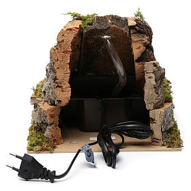 Waterfalls and small lake 20x20x25 cm for Nativity Scene 9-10 cm s4