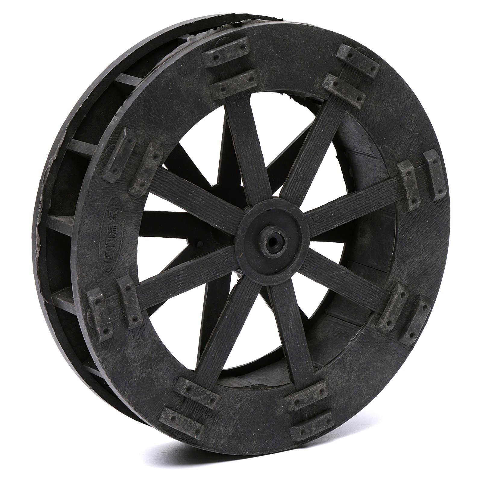Watermill wheel in plastic diameter 20 cm 4