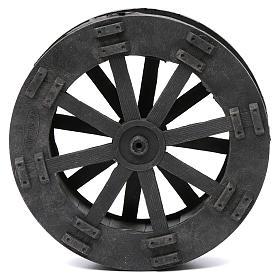 Watermill wheel in plastic diameter 20 cm s1