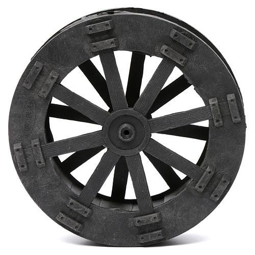 Watermill wheel in plastic diameter 20 cm 1