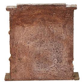Muro con mattoni per presepe 10 cm 20x20x5 cm s4