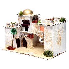 Maison arabe pour crèche 25x35x20 cm s2