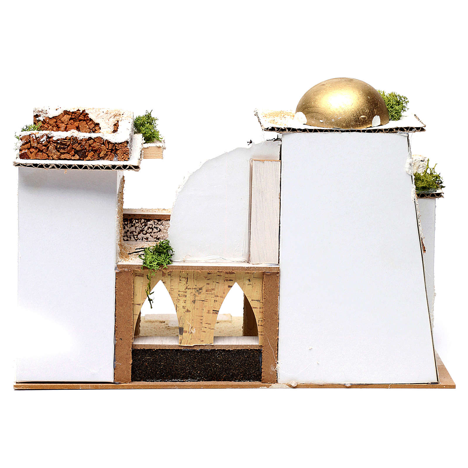 Arab Home for Nativity 25X35X20 cm 4