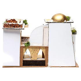 Arab Home for Nativity 25X35X20 cm s4