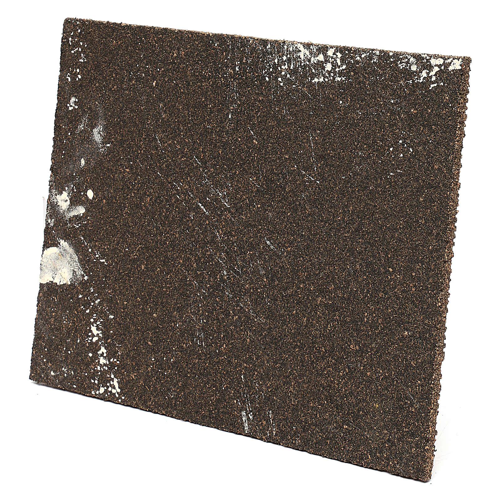 Muro romano con intonaco per presepe 25x35 cm 4