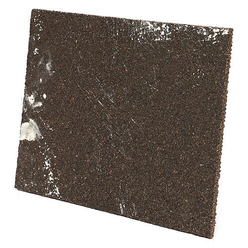 Muro romano con intonaco per presepe 25x35 cm 2