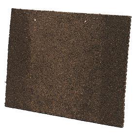 Muro in mattoni con intonaco 25x35 s2