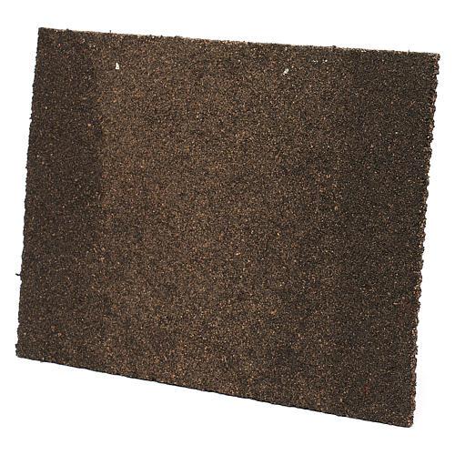 Muro in mattoni con intonaco 25x35 2