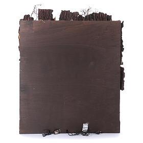 Casolare con mulino ad acqua presepe di Napoli di 10-12-14 cm 100x80x60 cm s4