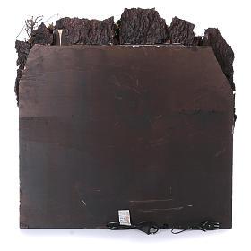 Caserío con fuente y horno para belén napolitano de 10-12-14 cm de altura media 80x80x50 cm s4
