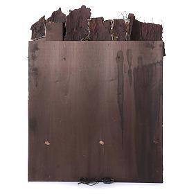 Casolare rustico per presepe di 10-12-14 cm di Napoli 110x80x60 cm s4