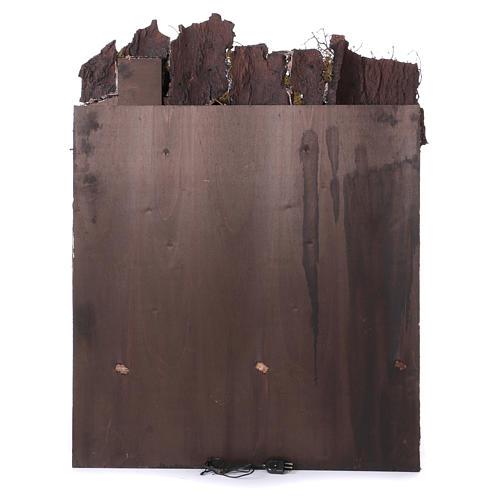 Casolare rustico per presepe di 10-12-14 cm di Napoli 110x80x60 cm 4