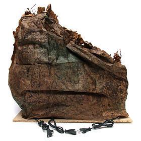 Szene der Krippe mit Grotte und Backofen 60x70x55cm neapolitanische Krippe s4