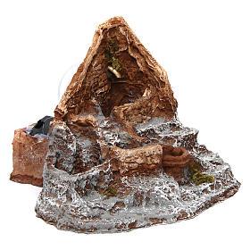 Fontana in resina sorgente 15X20X20 cm presepe napoletano s3