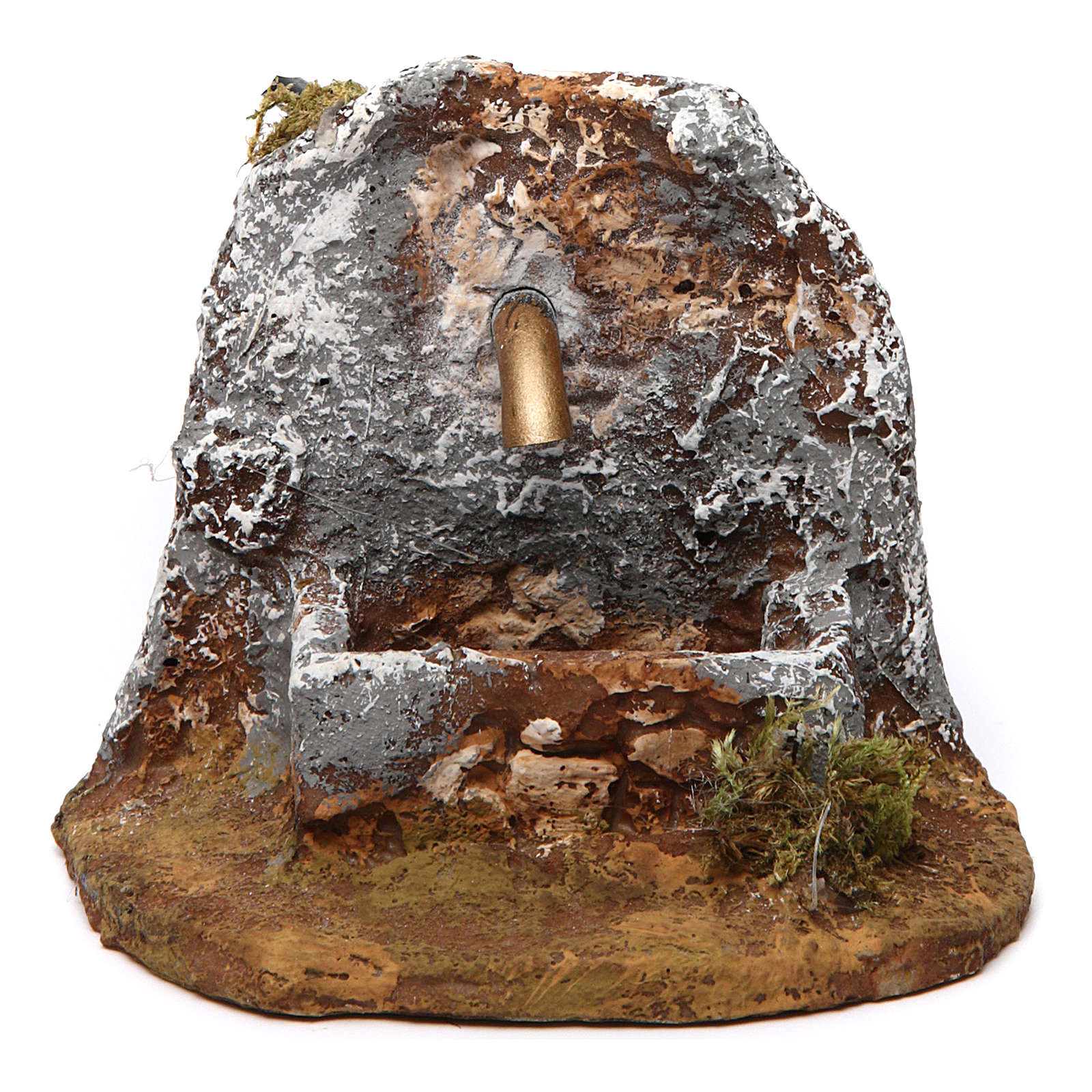 Fountain in resin for Neapolitan Nativity Scene 10x10x15 cm 4