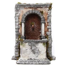 Wall fountain in resin for Neapolitan Nativity Scene 35x25x20 cm s1