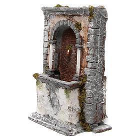 Fontana in resina a muro 35X25X20 cm presepe napoletano s2