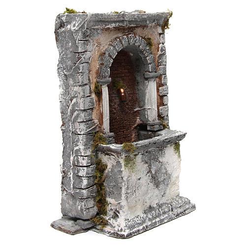 Wall Fountain in Resin 35X25X20 cm Neapolitan Nativity 3