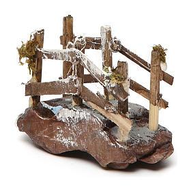 Puente de madera y resina 5x10x5 belén napolitano s2