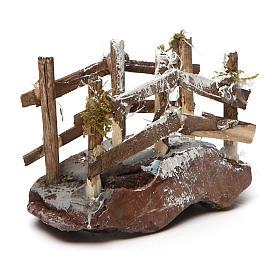 Puente de madera y resina 5x10x5 belén napolitano s3