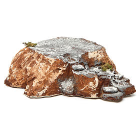 Ambientación base con escalera de resina 5x15x20 cm belén napolitano s3