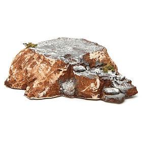 Ambiente base con scala in resina 5x15x20 cm presepe napoletano s3