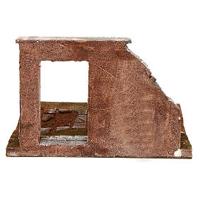 Trecho de calle componible con puerta 12 cm de altura media s4