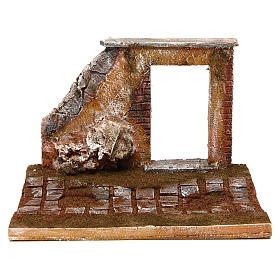 Joinable road part with door for Nativity Scene 12 cm s1