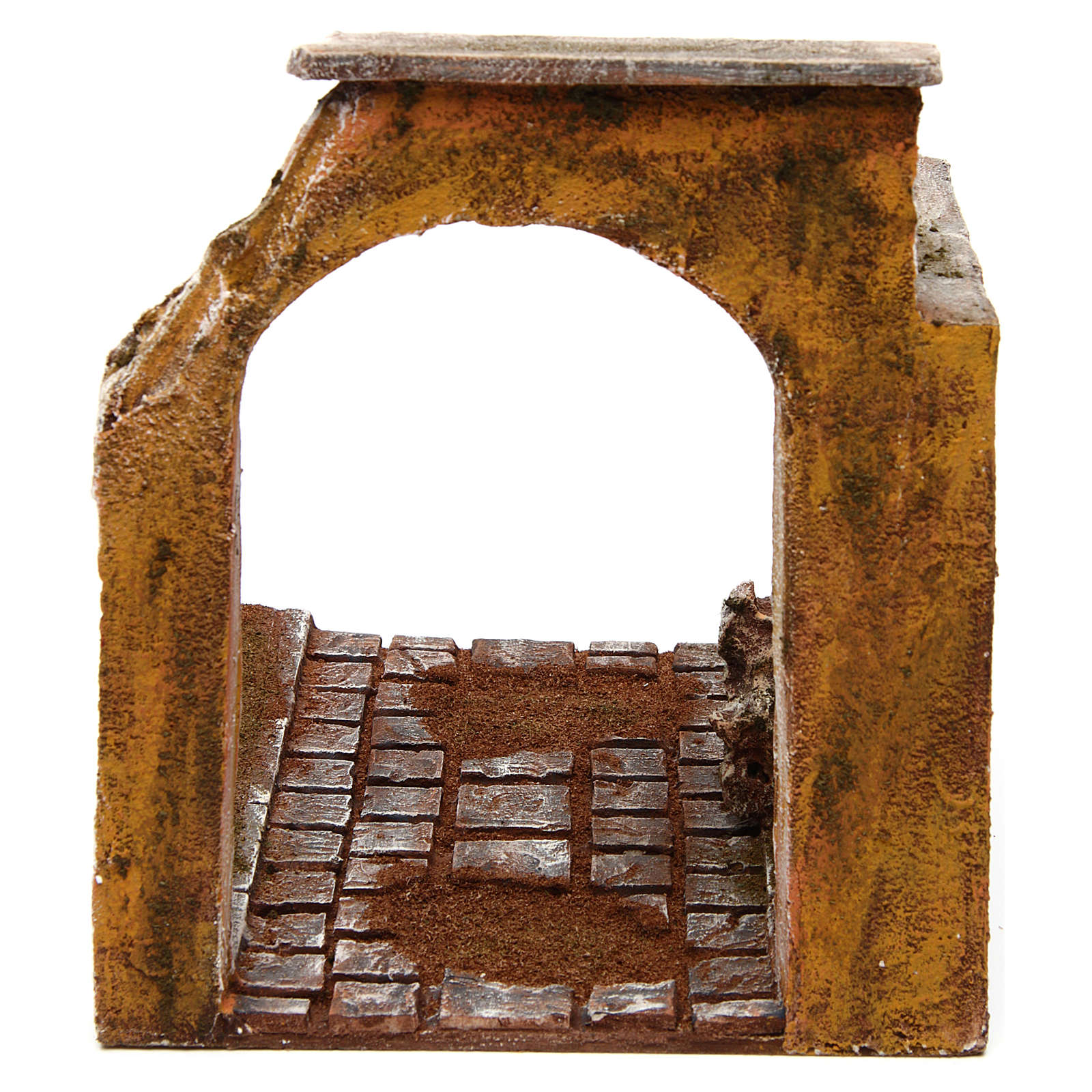 Modular road with arch and wall 12 cm 4