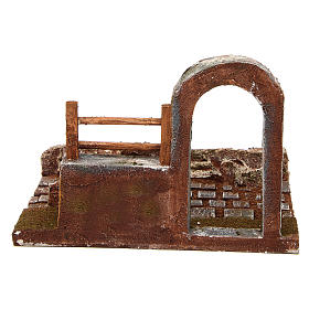 Modular road with arch and wall 10 cm s4
