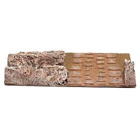 Strada componibile dritta alta pastori 12 cm s4