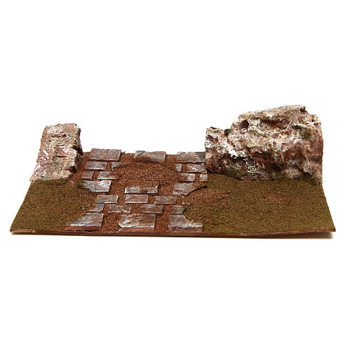 Joinable high road straight line 12 cm 1