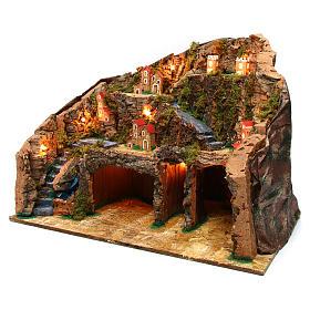 Village 60x35x40 cm for Nativity Scene 10-12 cm s2
