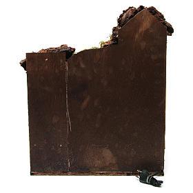 Aldea con fuego 40x40x50 cm para belén de 10 cm de altura media s4