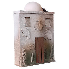 Casa oriental para belén de 10 cm - 30x20x5 - fachada s3