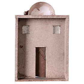 Casa oriental para belén de 10 cm - 30x20x5 - fachada s4